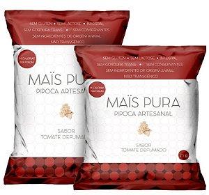 PIPOCA SABOR TOMATE DEFUMADO (50g)