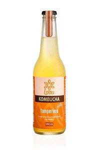 Laau Kombucha - sabor tangerina - 355 ml