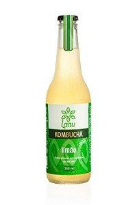 Laau Kombucha - sabor limão - 355 ml