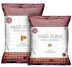 PIPOCA SABOR PURO MASCAVO (100g)