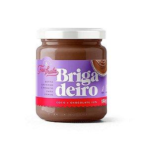 BRIGADEIRO FRU-FRUTA - COCO + CHOCO 70%