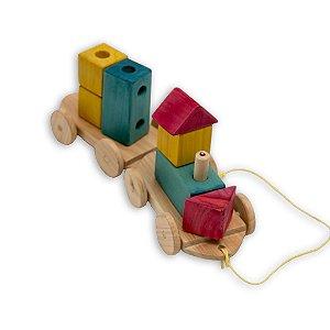 Kit Trenzinho - Gerana Brinquedos Educativos