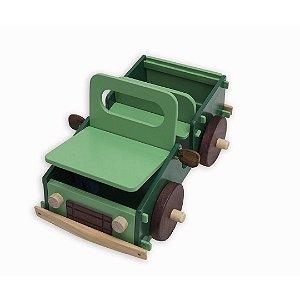 Jipe em madeira - Gerana Brinquedos Educativos