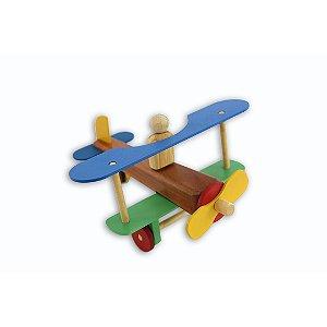 Avião Teco Teco - Gerana Brinquedos Educativos