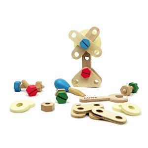 Kit Inventando e Consertando - Lume Brinquedos