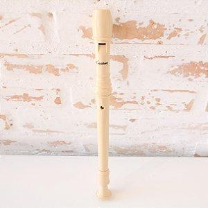 Flauta Doce Germânica em ABS - Custom Instrumentos Musicais