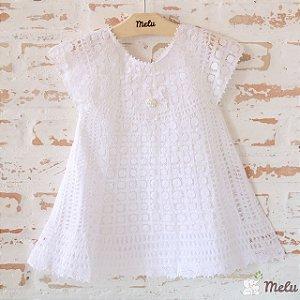 Vestido de Renda Renascença - Helena - 1- 2 anos
