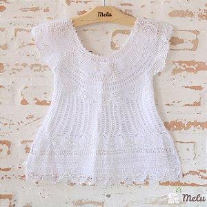 Vestido de Renda Renascença - Lara - 9 a 12 meses