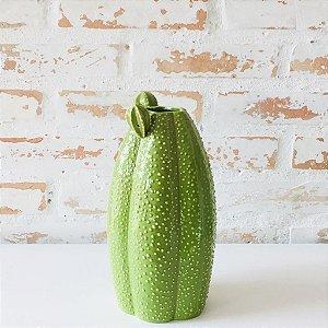Vaso de Cerâmica Tipo Cacto - longo
