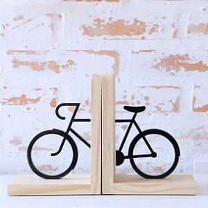 Aparador de Livros - Bike Preto