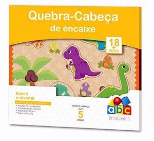 Quebra Cabeça de Encaixe - Dinossauros