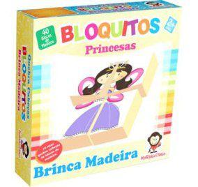 Quebra Cabeça Bloquitos - Princesa