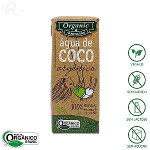 Água de Coco Orgânica 200ml - Organic (CONSUMO IMEDIATO)