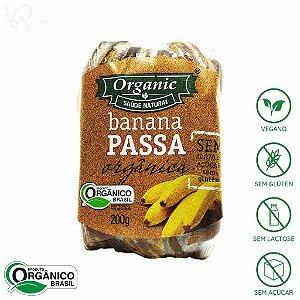 Banana Passa Orgânica 200g - Organic