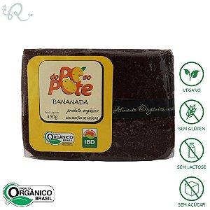 Bananada em Barra Orgânica 500g - Do Pé ao Pote