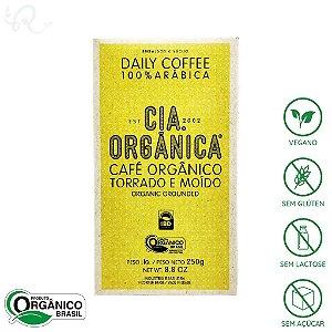 Café Orgânico em Pó Torrado e Moído 100% Arábica 250g - Cia Orgânica