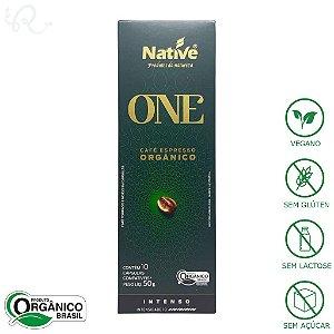 Café Orgânico em Cápsulas Nespresso® Intenso - Native