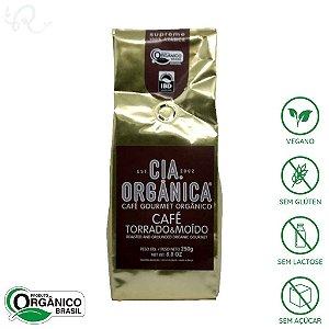 Café Orgânico em Pó Supreme 100% Arábica 250g - Cia Orgânica