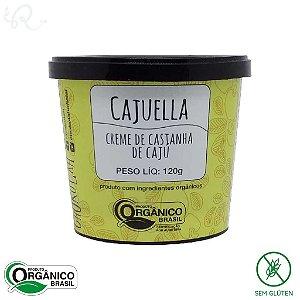 Cajuella Creme de Castanha de Caju Orgânico 120g - Chokolah
