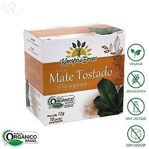 Chá Mate Tostado Orgânico 10 sachês - Kampo de Ervas