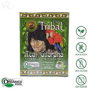 Chá de Açaí e Guaraná Orgânico 15 sachês - Tribal Brasil