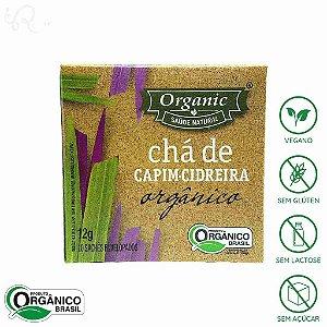 Chá Orgânico de Capim Cidreira 10 sachês - Organic