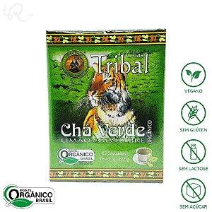 Chá Verde com Limão e Gengibre Orgânico 15 sachês - Tribal Brasil