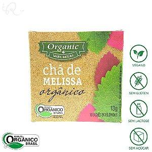 Chá Orgânico de Melissa 10 sachês - Organic