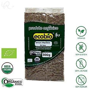 Farinha de Linhaça Marrom Orgânica 300g - Ecobio