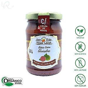 Geleia Orgânica de Goiaba (com Calda de Agave) 200g - Novo Citrus (CONSUMO IMEDIATO)