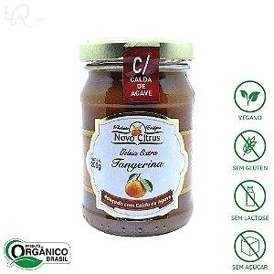 Geleia Orgânica de Tangerina (com Calda de Agave) 200g - Novo Citrus