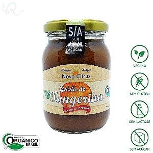 Geléia Sem Açúcar Orgânica de Tangerina 275g - Novo Citrus
