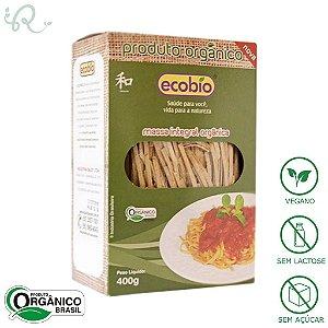 Macarrão Orgânico Integral 400g - Ecobio (PRÓXIMO AO VENCIMENTO)
