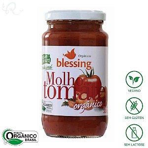 Molho de Tomate Orgânico Pronto Tradicional 330g - Blessing