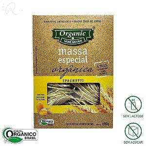 Macarrão Orgânico Spaghetti 500g - Organic (CONSUMO IMEDIATO)