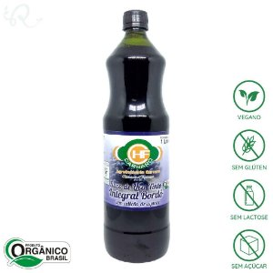 Suco de Uva Integral Orgânico Bordô 1L - HF Carraro (CONSUMO IMEDIATO)