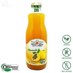 Suco Orgânico de Maracujá 1L - Novo Citrus
