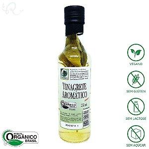 Vinagre Orgânico Aromático 250ml - Jatobá (CONSUMO IMEDIATO)