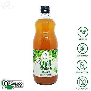 Suco de Uva Orgânico e Integral Branca 1L - Coopeg