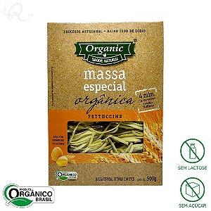 Macarrão Orgânico Fettuccine 500g - Organic (CONSUMO IMEDIATO)