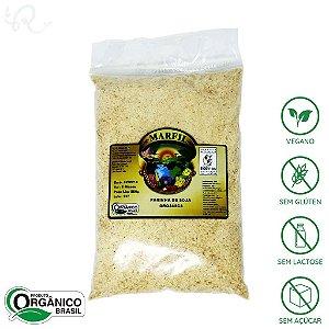 Farinha de Soja Orgânica 500g - Marfil