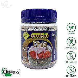 Chia em Grãos Orgânica 120g - Ecobio (CONSUMO IMEDIATO)