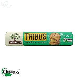 Biscoito Tribos Orgânico e Integral Coco 130g - Mãe Terra (CONSUMO IMEDIATO)