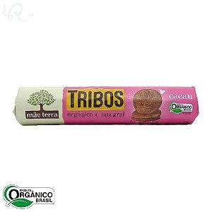 Biscoito Tribos Orgânico e Integral Cacau 130g - Mãe Terra (CONSUMO IMEDIATO)