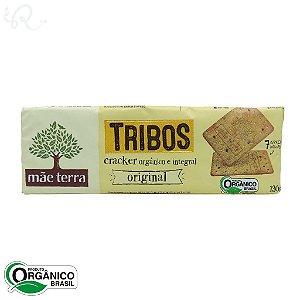 Biscoito Tribos Orgânico e Integral Cracker Original 130g - Mãe Terra (CONSUMO IMEDIATO)