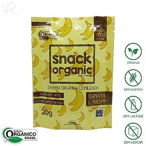 Banana Liofilizada Snack Organic 20g - MJ Maciel