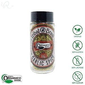 Tempero Orgânico Garlic Spice 34g - Tribal Brasil