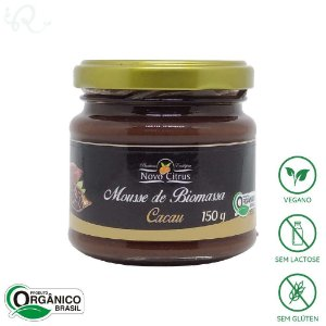 Mousse de Biomassa com Cacau 150g - Novo Citrus