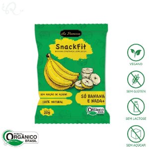 Banana Orgânica Liofilizada 20g - La Pianezza