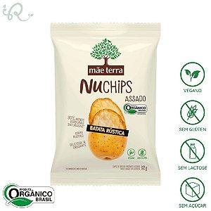 NuChips Chips Batata Rústica 32g - Mãe Terra (VENCIMENTO PRÓXIMO)